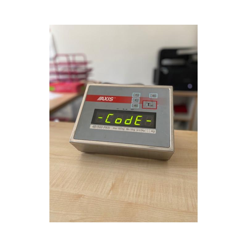 Terminal SE-01/N/25 LCD AXIS